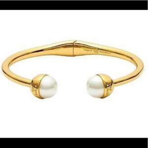 Tory Burch Pearl Hinge Bracelet